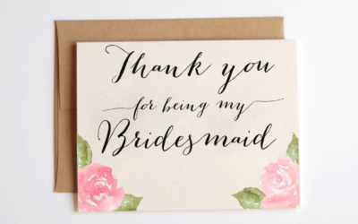 Bridesmaids: 7 Unique Ways to Say Thank You to Your Girls