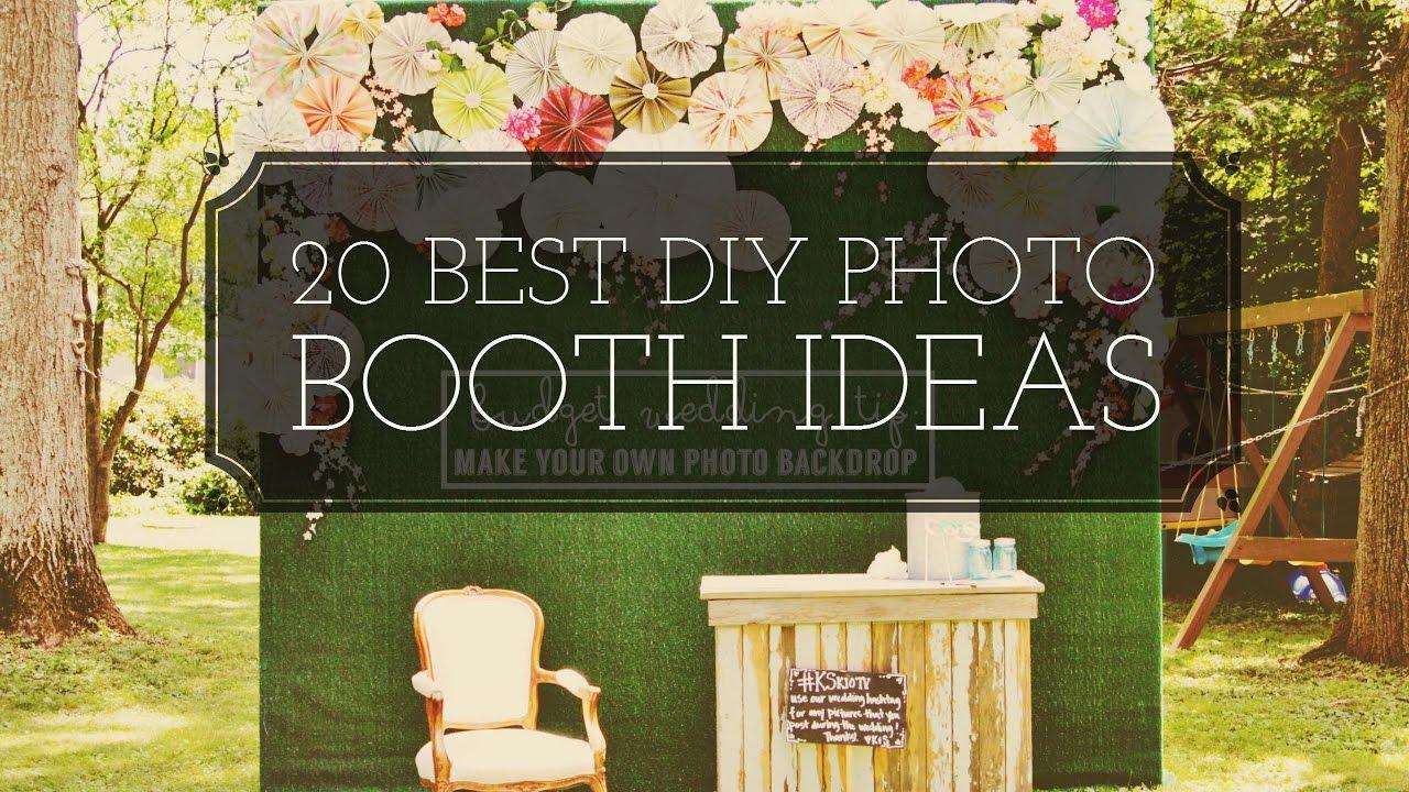 Photo Booth Ideas KAMAARA WEDDING VIDEOS