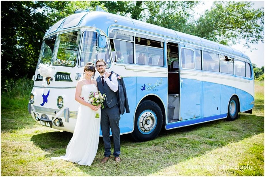 Vintage Wedding Bus