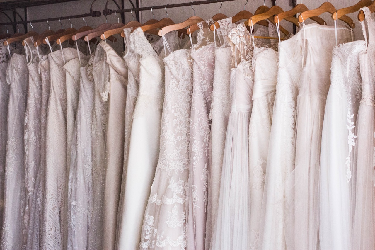 wedding dress to suit your shape