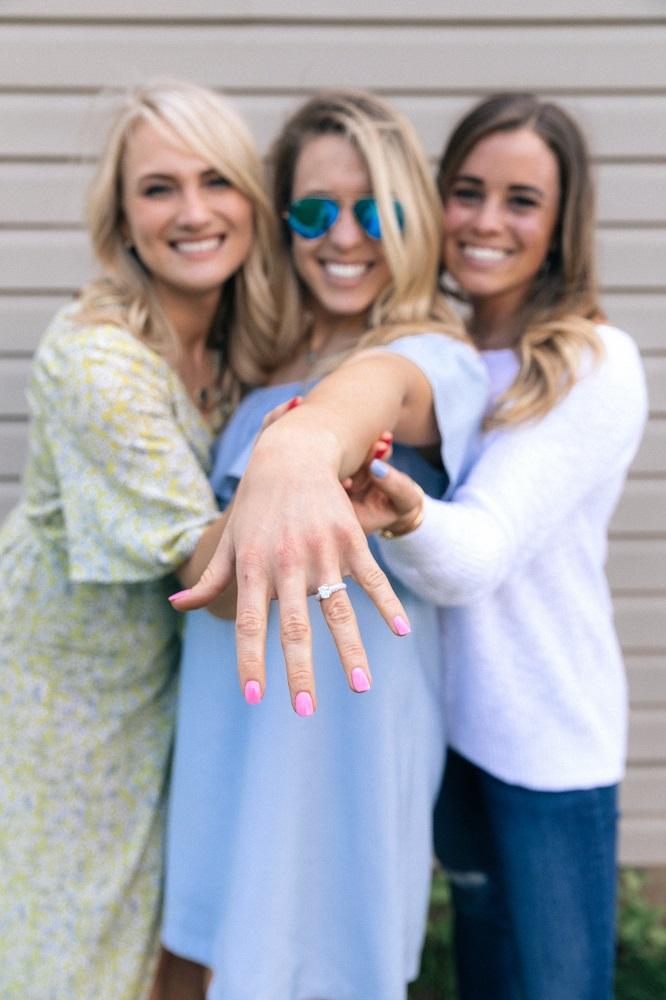 engagement ring joy